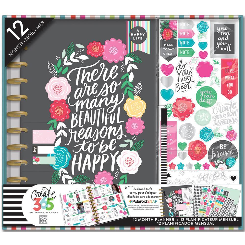 Create 365 Planner Box Kit - Flower Pop