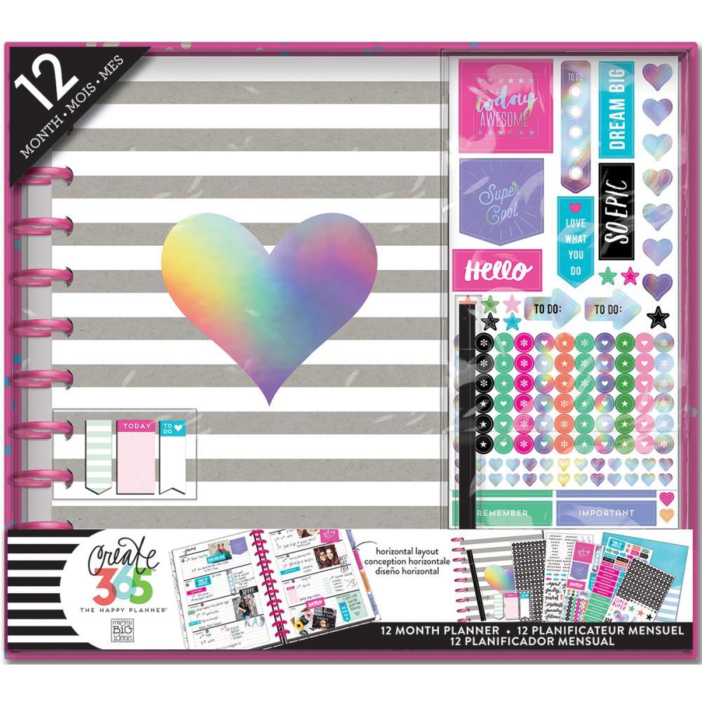 Create 365 Planner Box Kit - Rainbow Foil