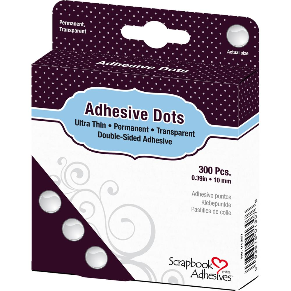 "דבק דו""צ - Adhesives Micro Dots Permanent - 0.39"""
