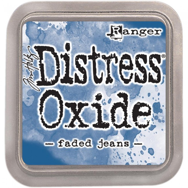 Tim Holtz Distress Oxides Ink Pad - Faded Jeans