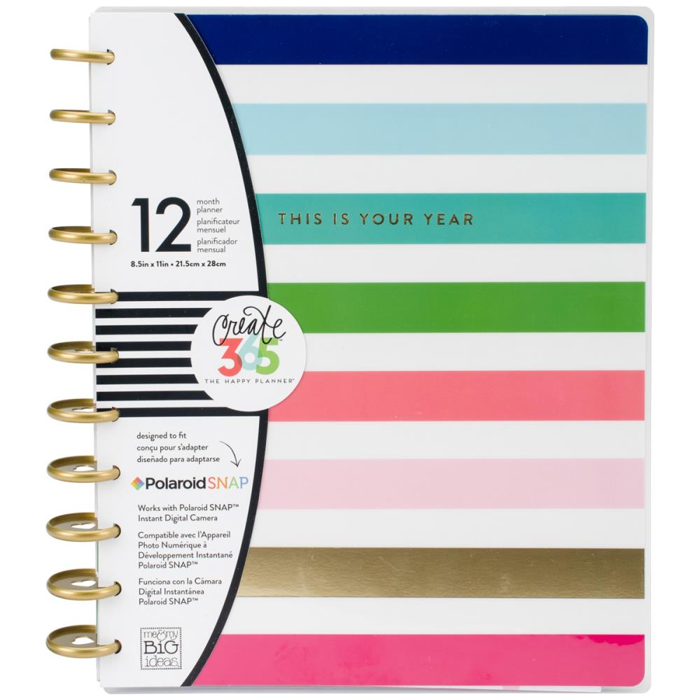 Create 365 12-Month Undated Planner - This Is Your Year
