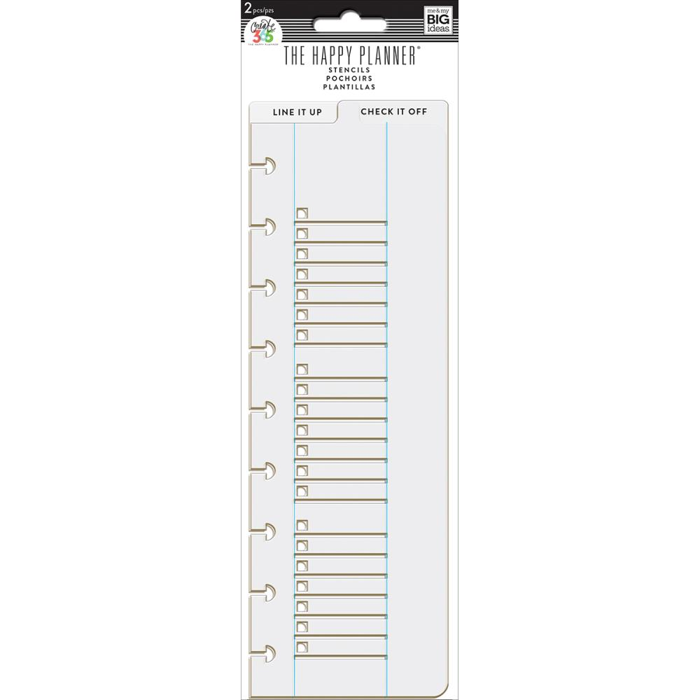 Create 365 Planner Stencil - Line It Up & Check It Off