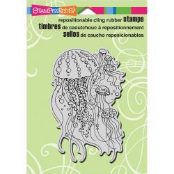 חותמת קלינג - Cling Stamp - Jellyfish