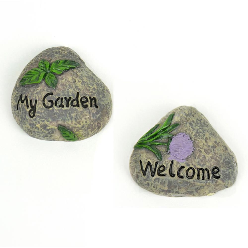 מיניאטורה - Fairy Garden My Garden Rocks