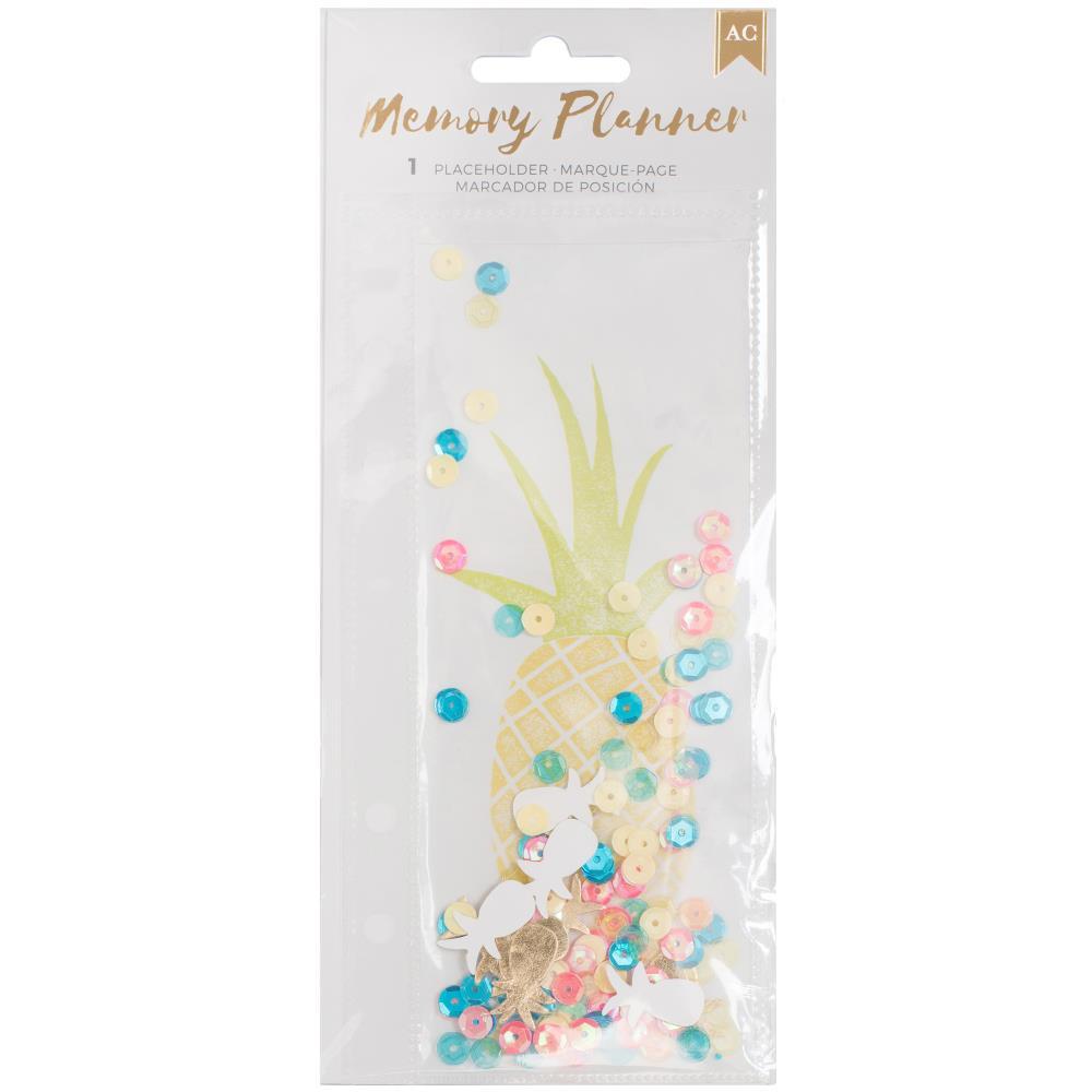 Memory Planner Bookmark - Pineapple
