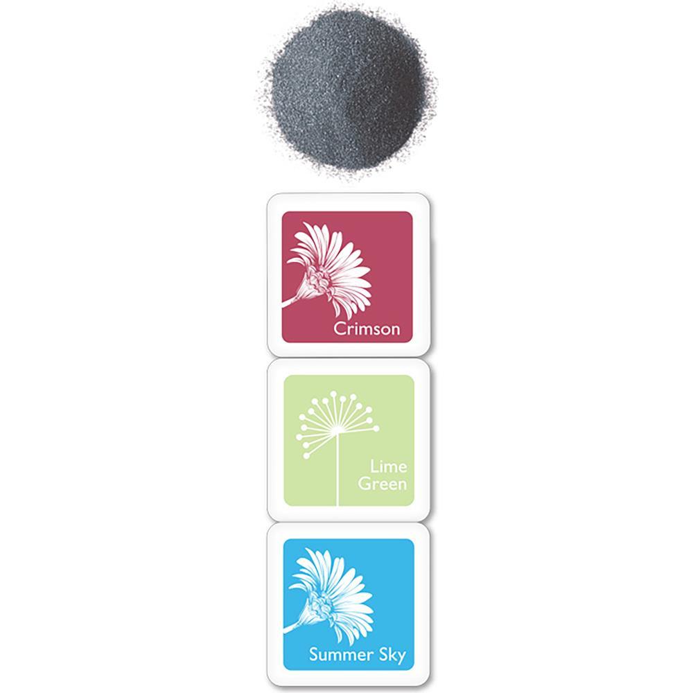 Embossing Powder & Ink Cubes - Joy