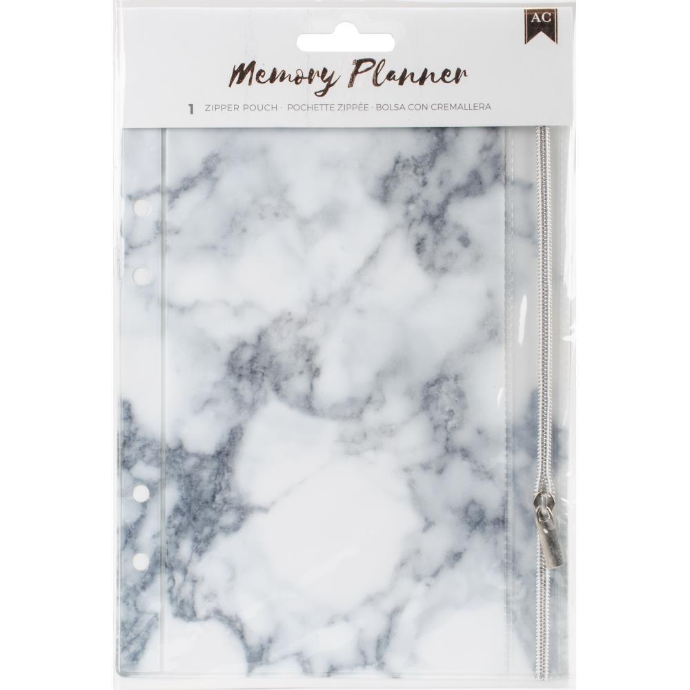 Memory Planner Zipper Pouch Insert - Marble Crush