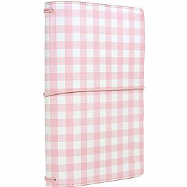 מידורי Traveler's Notebook - Pink Gingham