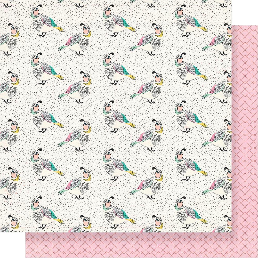 דף קארדסטוק - Flourish - Songbird