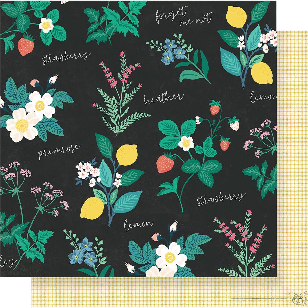 דף קארדסטוק - Flourish - Greenhouse
