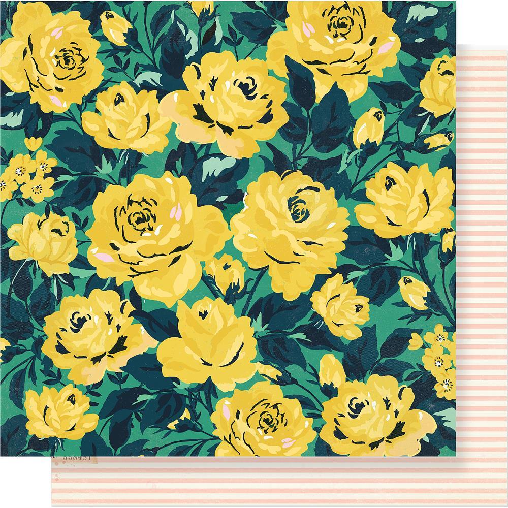 דף קארדסטוק - Flourish - Grandiflora