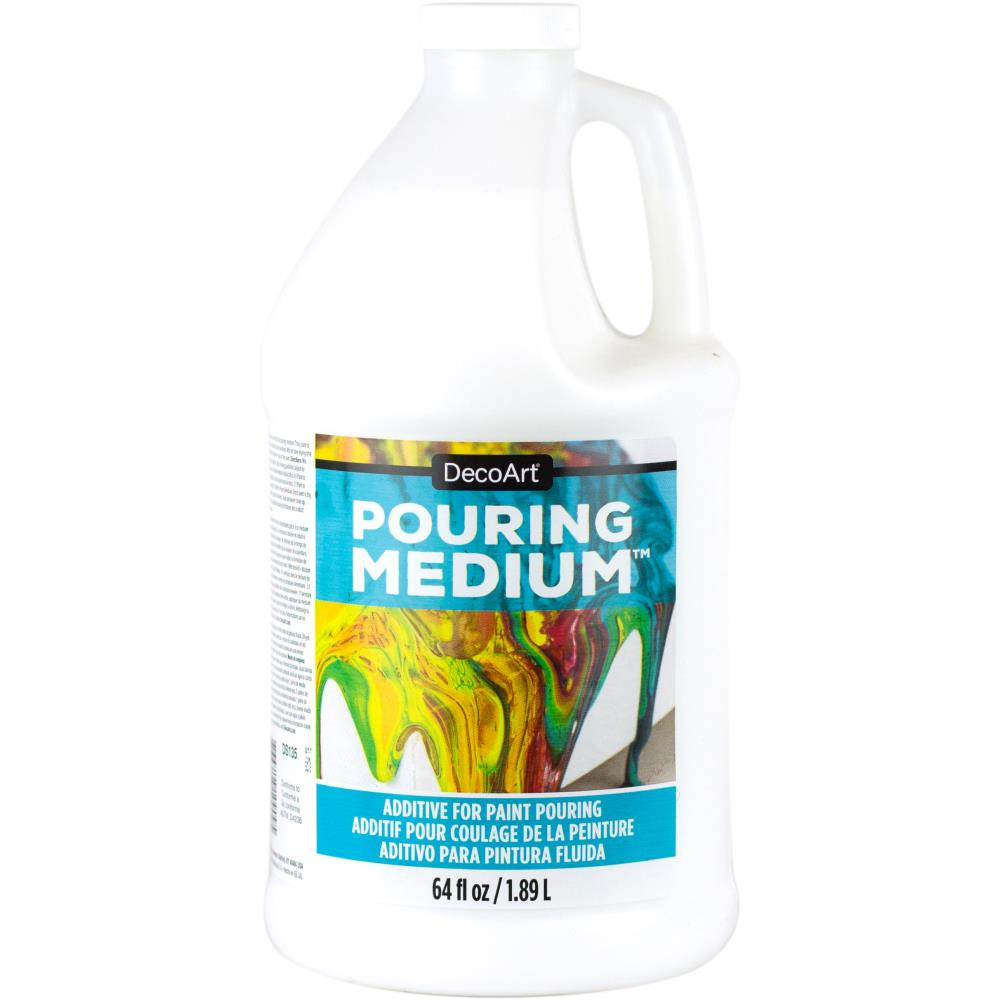 מדיום לצבעים - Americana Pouring Medium 64oz