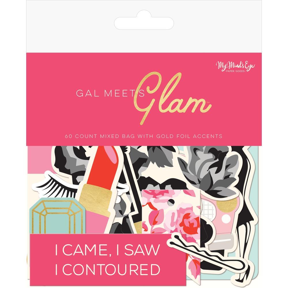 חיתוכי קארדסטוק - Gal Meets Glam Cardstock Die-Cuts