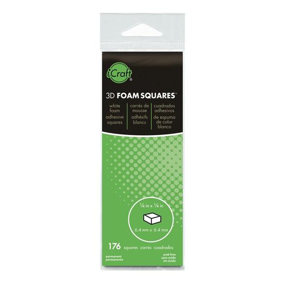 דבק דו צדדי - 3D Foam Squares - White
