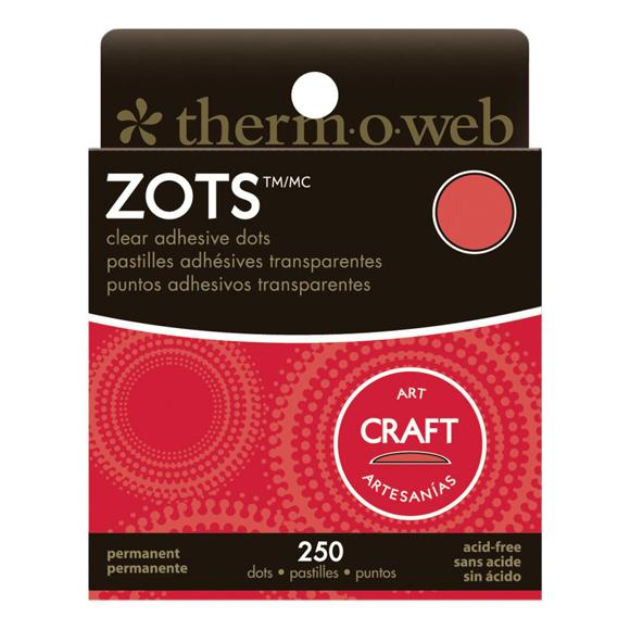 נקודות דבק - Zots Clear Adhesive Dots - Craft