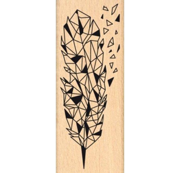 חותמת עץ - Eclat de Plume