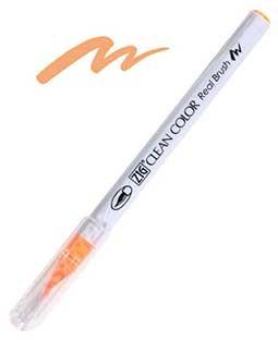 Zig Real Brush - 002 FL. Orange