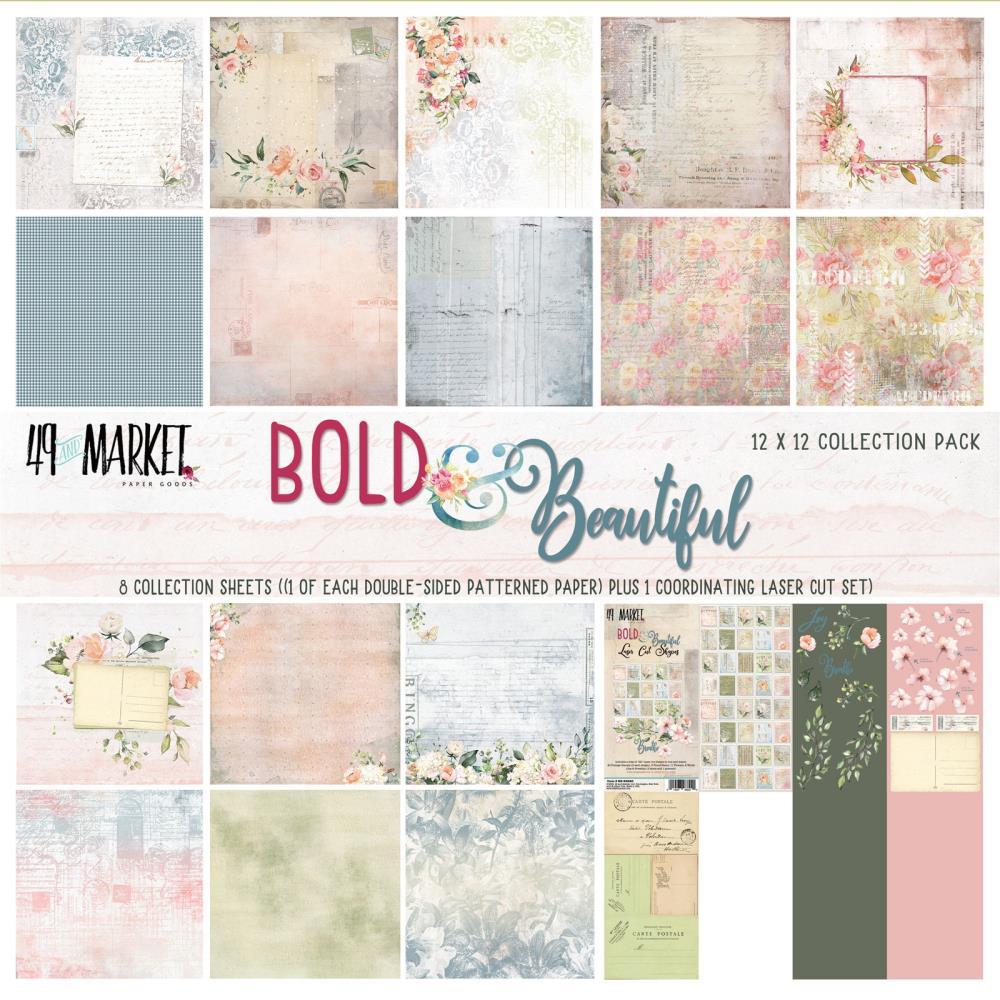 """מארז דפי קארדסטוק """"12 Bold & Beautiful Paper Pad"""