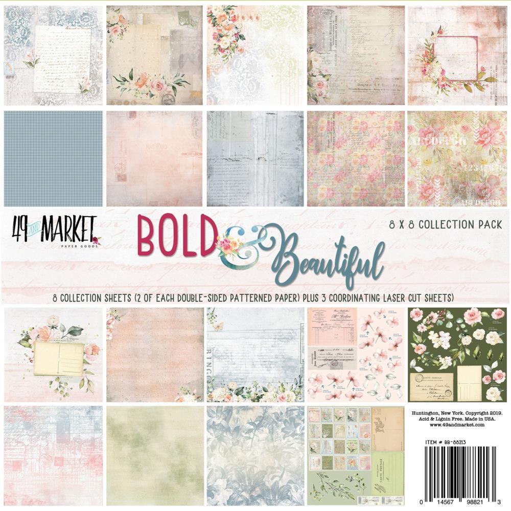 """מארז דפי קארדסטוק """"8 Bold & Beautiful Paper Pad"""