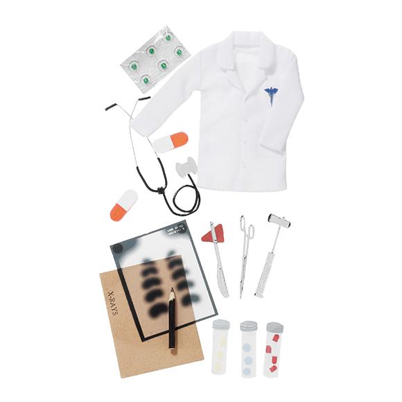 מדבקות תלת מימד - DOCTOR