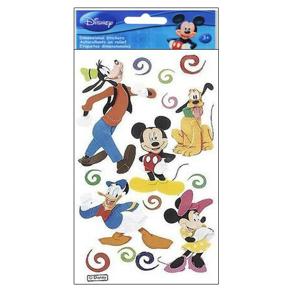 מדבקות - Mickey and Friends