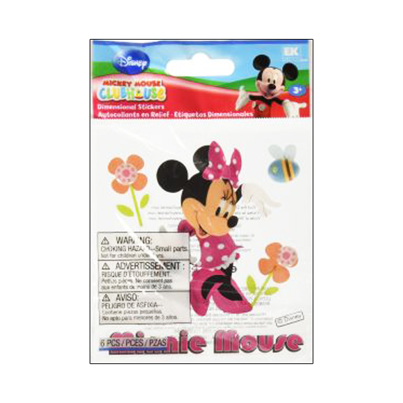 מדבקות - Minnie Mouse