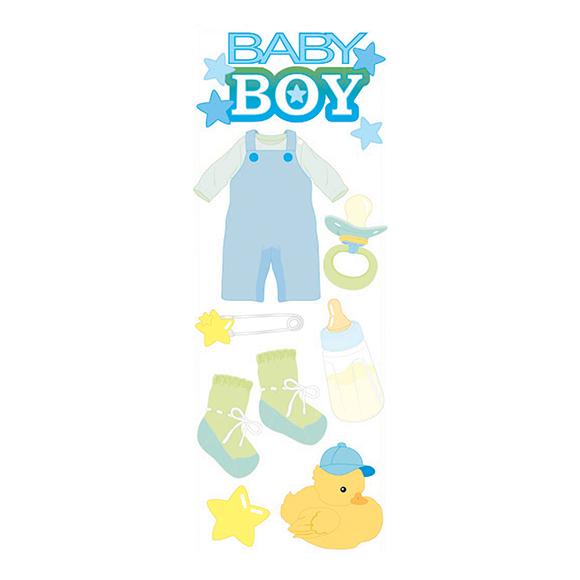מדבקות תלת מימד - BABY BOY