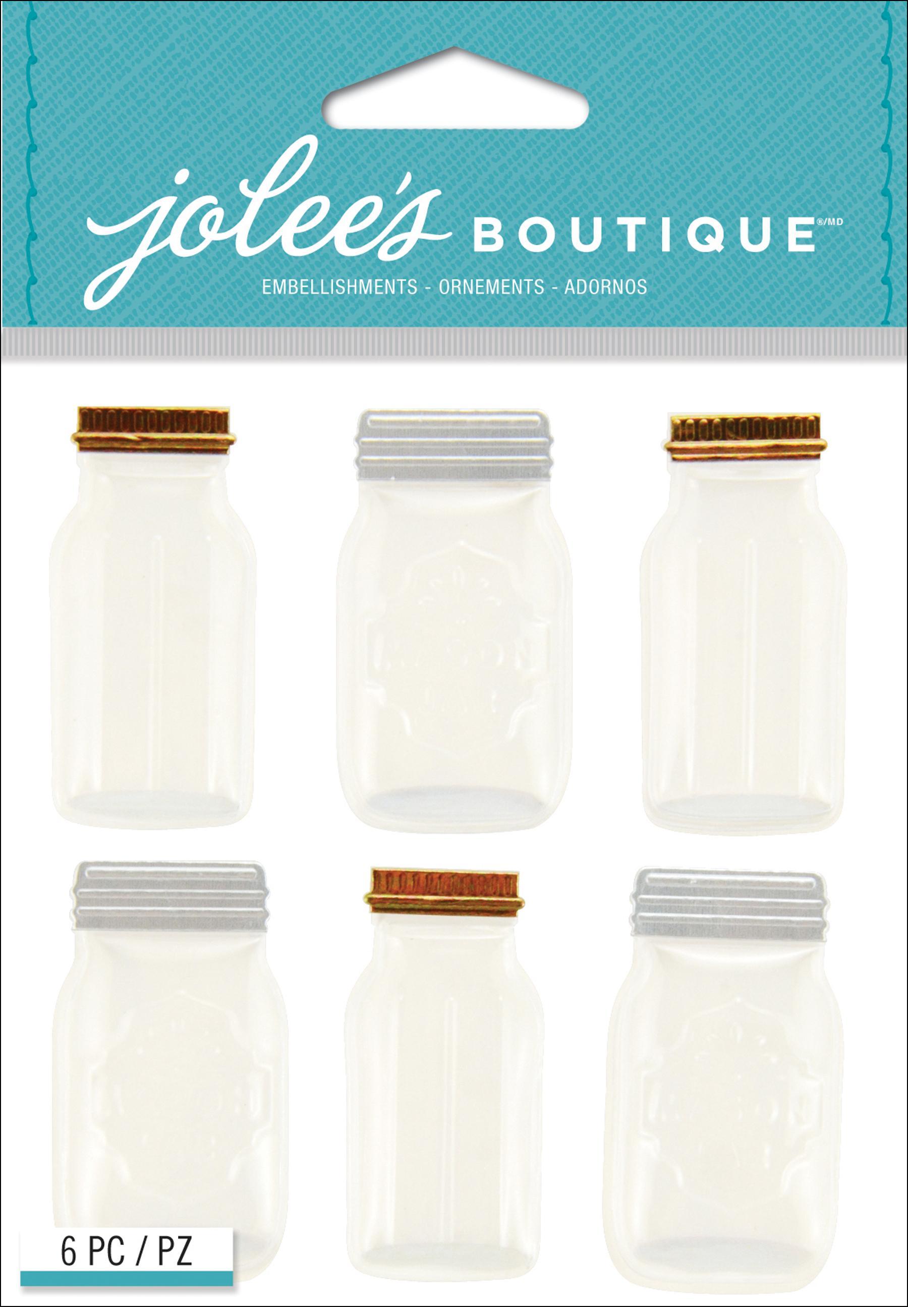 מדבקות Jolee's - צנצנות מייסון ג'אר MAISON JAR