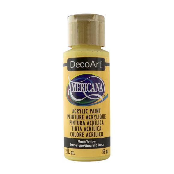 Americana Acrylic Paint - Moon Yellow