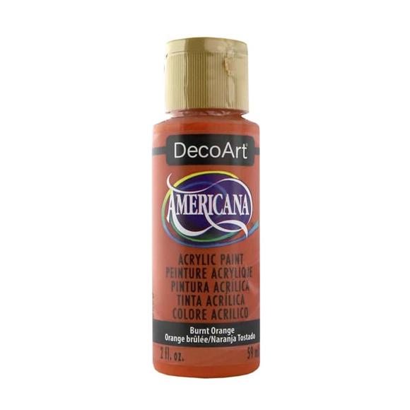 Americana Acrylic Paint - Burnt Orange