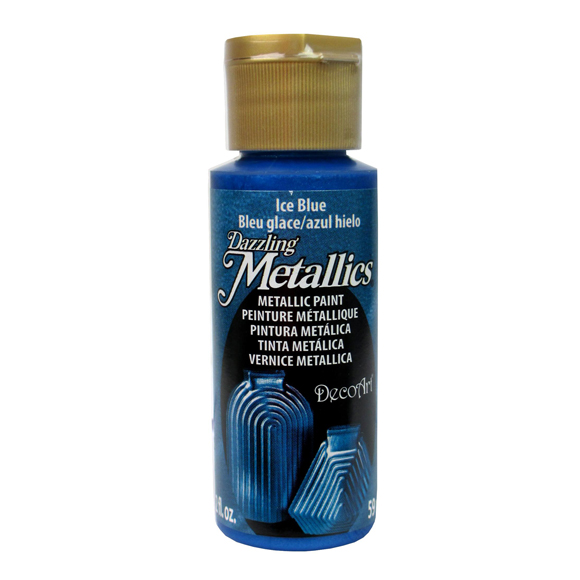 Americana Acrylic Dazzling Metallics - Ice Blue