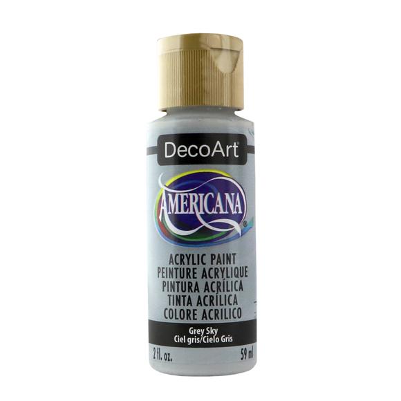 Americana Acrylic Paint - Grey Sky