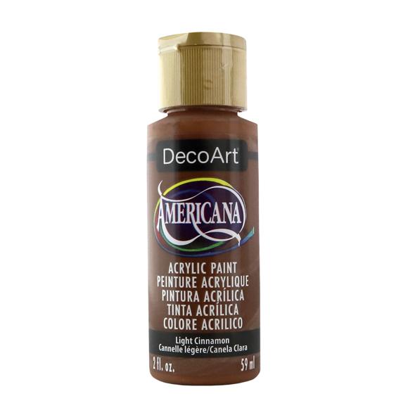 Americana Acrylic Paint - Light Cinnamon