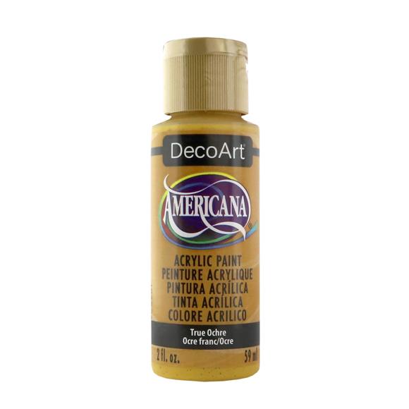Americana Acrylic Paint - True Ochre