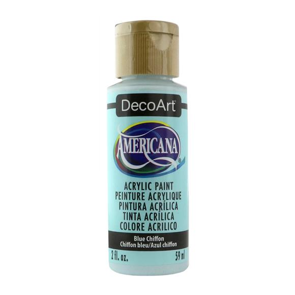Americana Acrylic Paint - Blue Chiffon