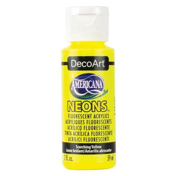 Americana Acrylic Neon - Scorching Yellow