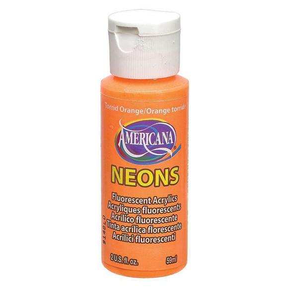 Americana Acrylic Neon - Torrid Orange