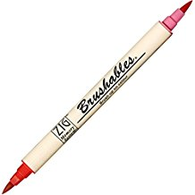 Zig Brushable Marker Pen - 020 Pure Red