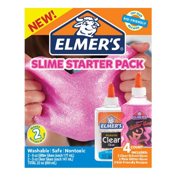ערכה להכנת סליים - Slime Kit Pink