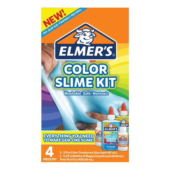 ערכה להכנת סליים - Slime Kit Color