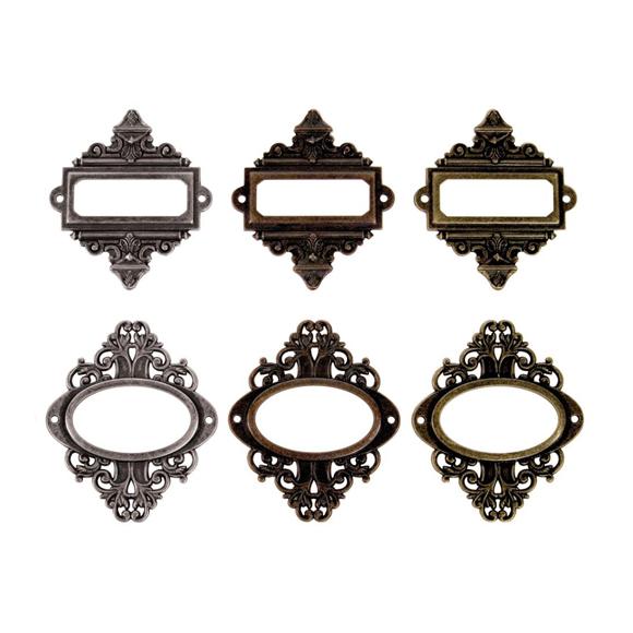 מסגרות מתכת - Metal Ornate Plates