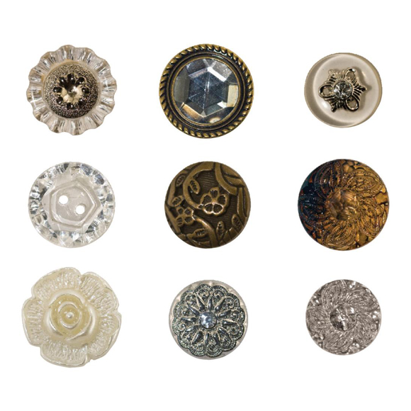 כפתורים Accoutrements Buttons - Fanciful
