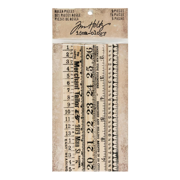 חיתוכי עץ - Idea-Ology Wooden Ruler