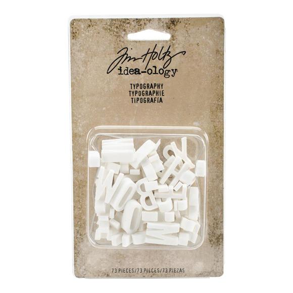 אותיות פלסטיק - Typography Plastic Alphabet