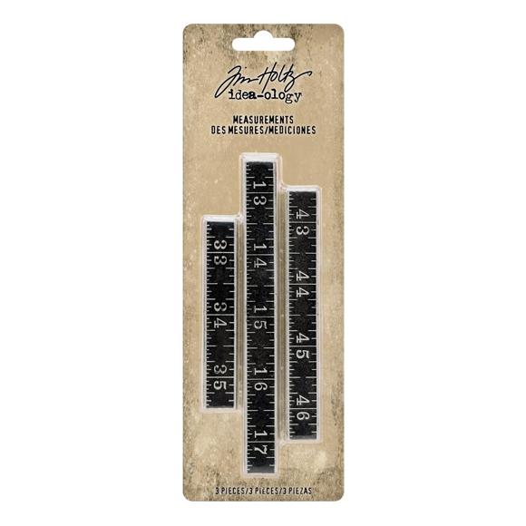 עיטורי מתכת - Metal Ruler Measurements