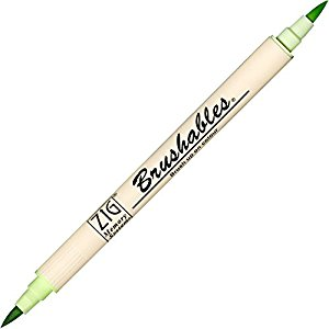 Zig Brushable Marker Pen - 045 Cool Cucumber