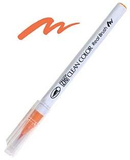 Zig Real Brush - 070 Orange