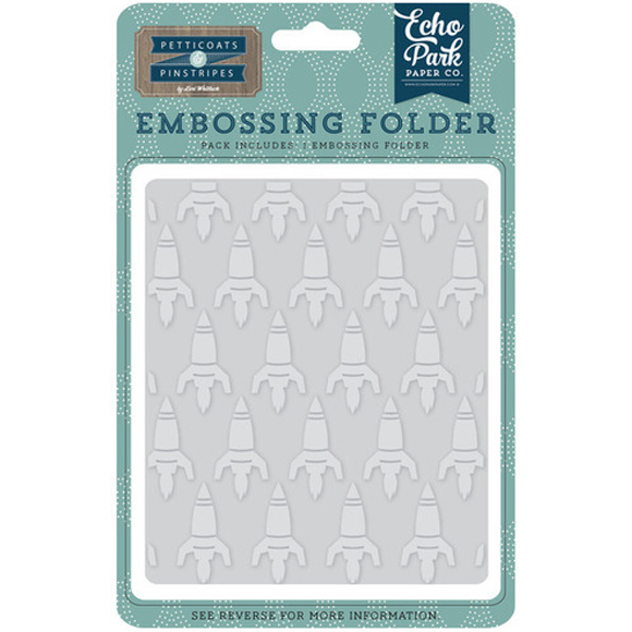 תבנית הבלטה Embossing Folder - Rocketship