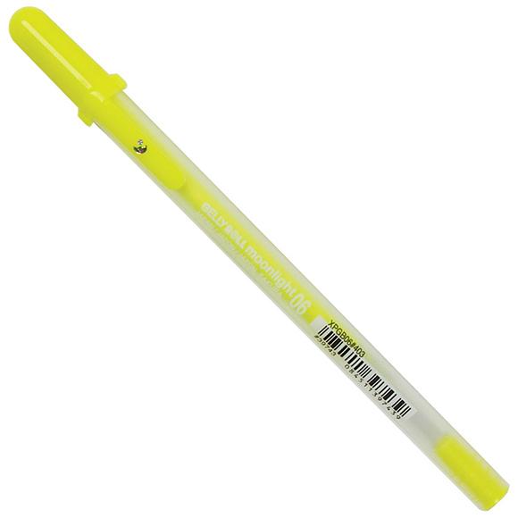עט ג'ל Gelly Roll Moonlight Fine - Yellow
