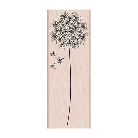 חותמת עץ - Dandelion